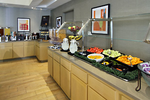 The Homewood Suites Hotel Dining Area