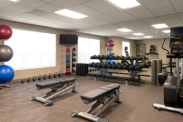 The Residence Inn Hotel Fitness Center