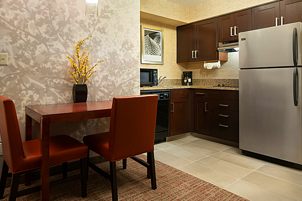 The Residence Inn Room Kitchen